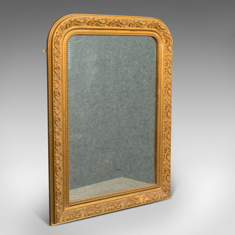 Antique Wall Mirror, English, Gilt Gesso, Neo Classical Revival, Victorian, 1900 - London Fine Antiques