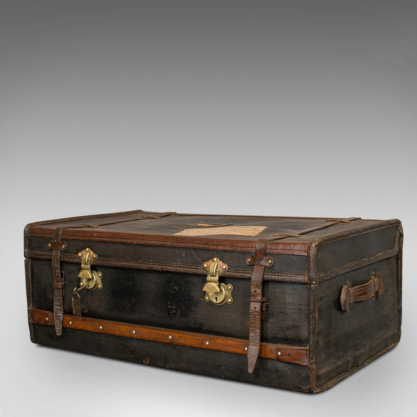 Antique Captain's Uniform Travel Case, English, Shipping, Suitcase, Victorian - London Fine Antiques