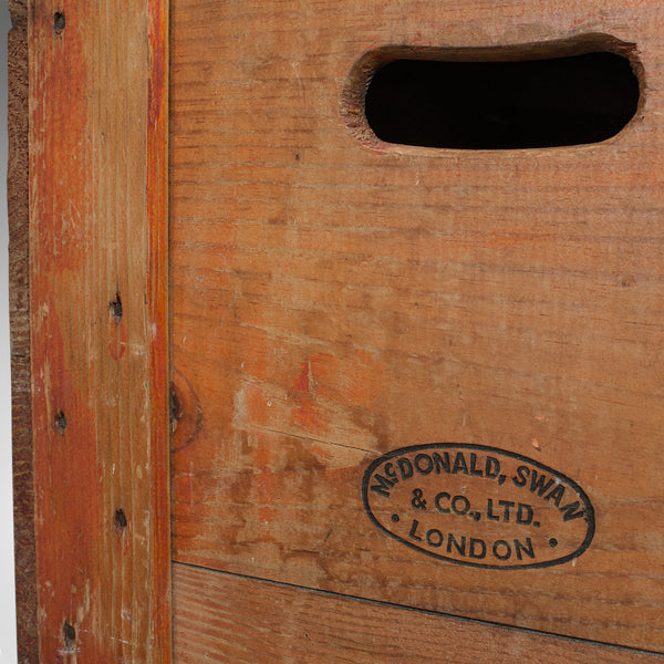 Vintage Champagne Case, English, Pine, Chest, Wine Carrier, 20th Century, C.1950 - London Fine Antiques