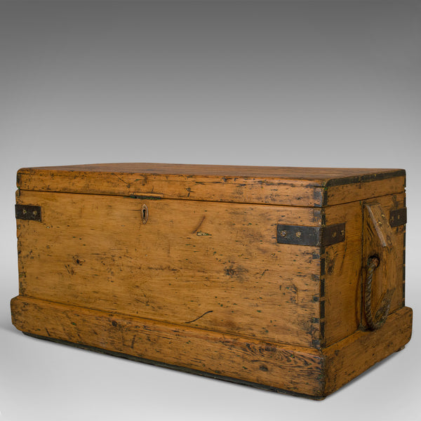 Antique Shipwright's Tool Chest, English, Maritime, Craftsman, Trunk, Victorian - London Fine Antiques