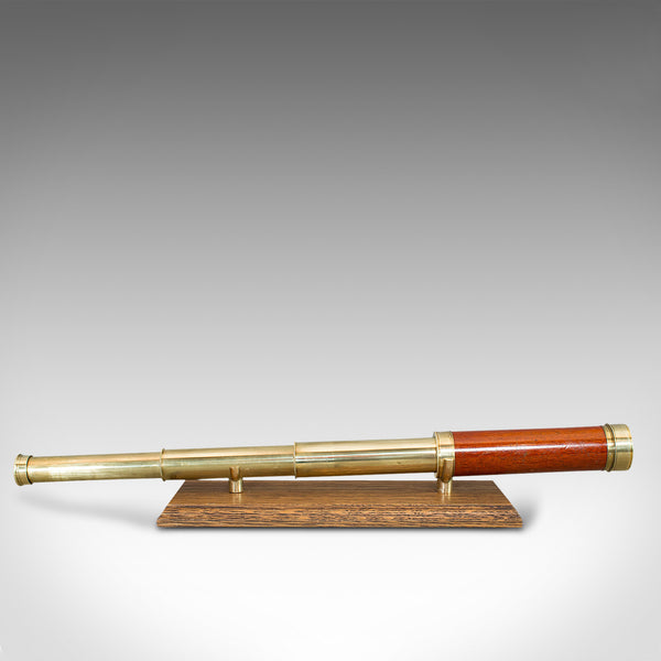 Antique 3 Draw Refractor, English, Terrestrial, Telescope, Berge, Georgian, 1805
