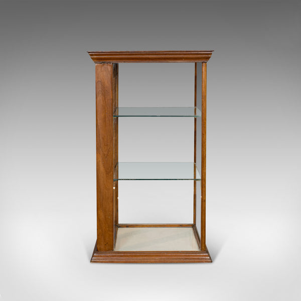 Antique Shop Display Cabinet, English, Walnut, Shopfitting, Chemist, Victorian
