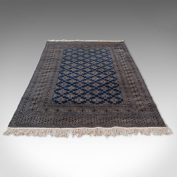 Vintage Bokhara Rug, Persian, Woven, Hall Carpet, Early 20th Century, Circa 1930