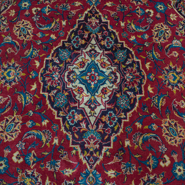 Vintage Tabriz Rug, North West Persian, Woven, Wool, Carpet, Hall, Lounge, Dozar