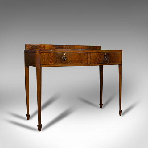 Antique Side Table, English, Mahogany, Buffet, Server, Hamptons, Edwardian, 1910