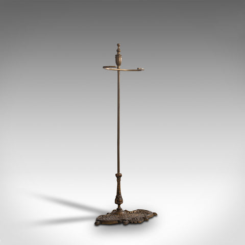 Antique Stick Stand, French, Brass, Hall, Cane, Umbrella Rack, Art Nouveau, 1920