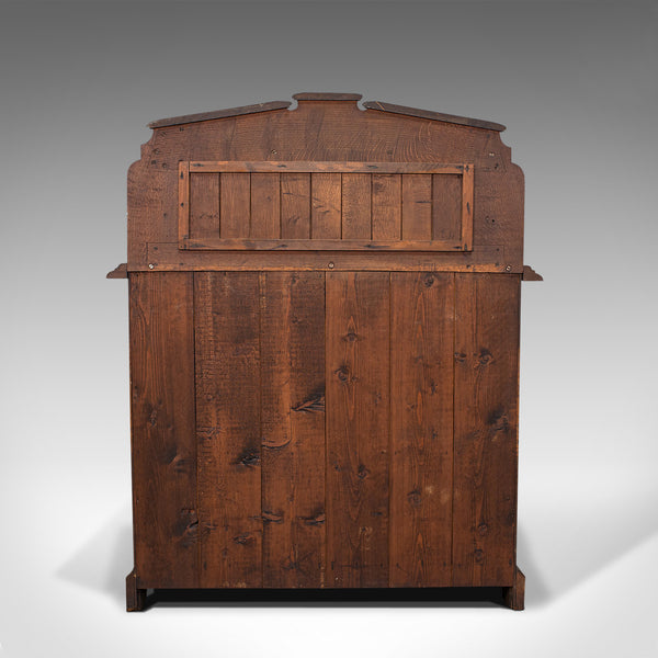Antique Chiffonier, Scottish, Oak, Sideboard, Cabinet, Victorian, C.1860