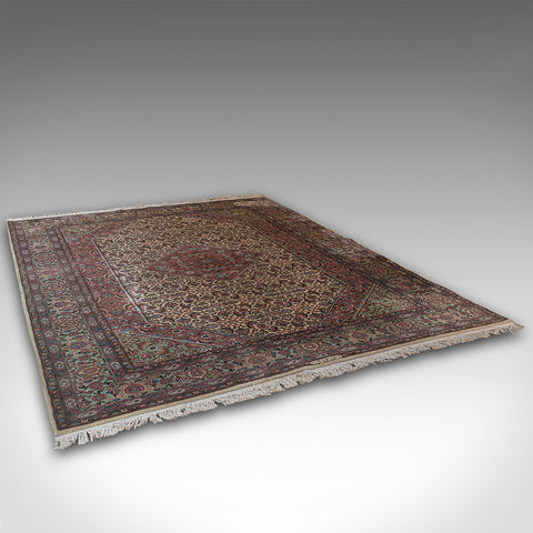 Large Vintage Serapi Rug, Indian, Woven, Hall, Lounge, Carpet, Mid 20th, C.1960