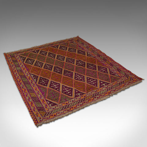 Antique Gazak Rug, Middle Eastern, Nomadic, Tribal, Decorative Carpet, C.1900