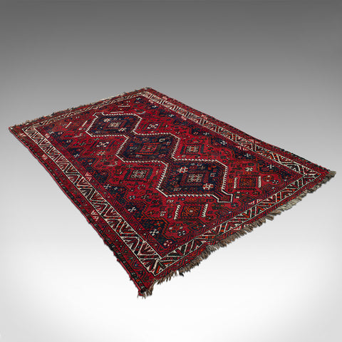 Antique Turkoman Carpet, Caucasian, Hand Woven, Lounge, Hallway, Rug, Circa 1900