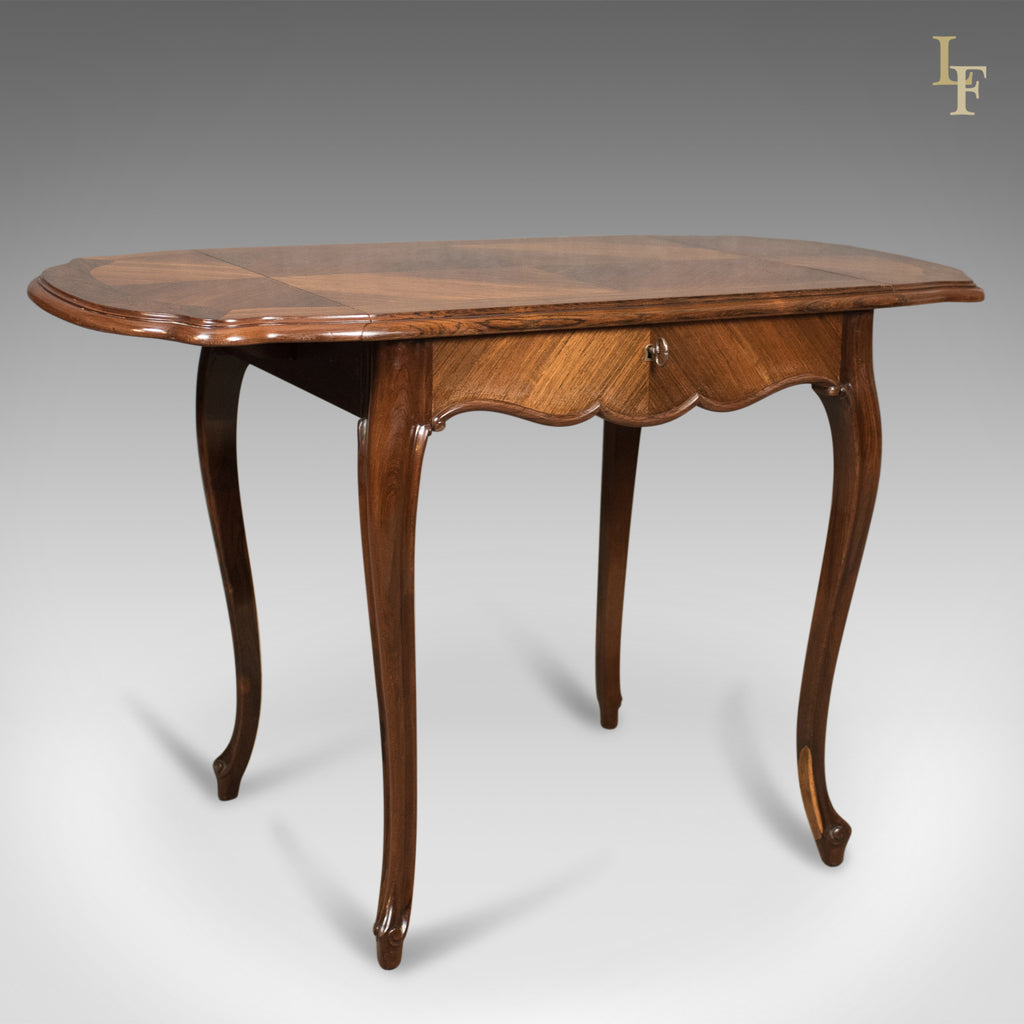 Sensational 19Th Century French Antique Sofa Table Kingwood Drop Flap Occasional C 1880 Andrewgaddart Wooden Chair Designs For Living Room Andrewgaddartcom