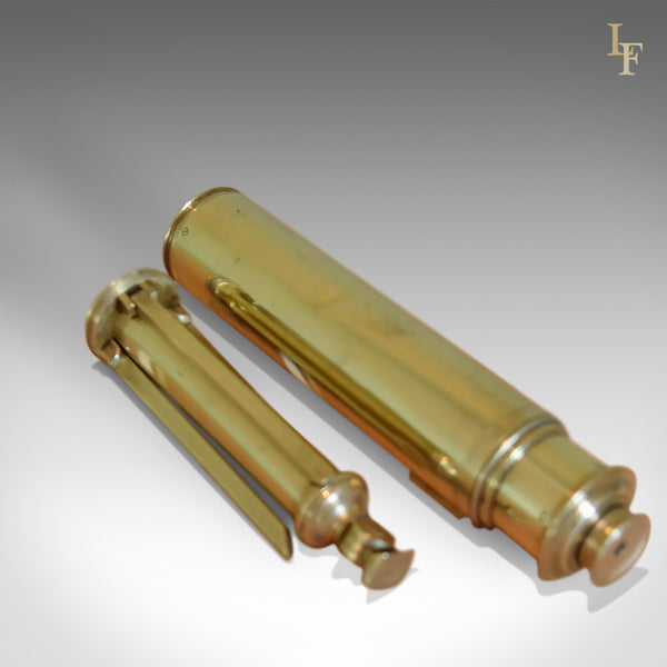 "Rare Miniature Dollond Antique Telescope, 1"" Refracting Achromatic, C18th - London Fine Antiques"