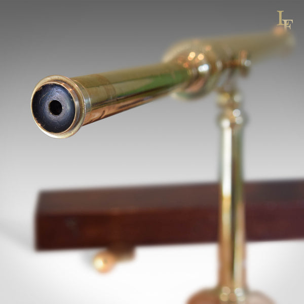 "Antique Telescope, Dollond, 2"" Refracting Library Scope in Mahogany Case c.1800 - London Fine Antiques"
