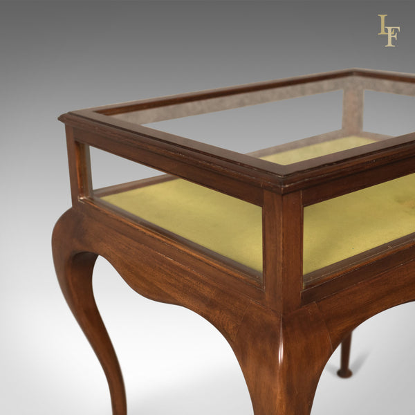 Antique Bijouterie Table, George V Display Case, English c.1915 - London Fine Antiques
