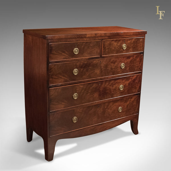 Antique Chest of Drawers, After Sheraton Georgian c.1795 - London Fine Antiques