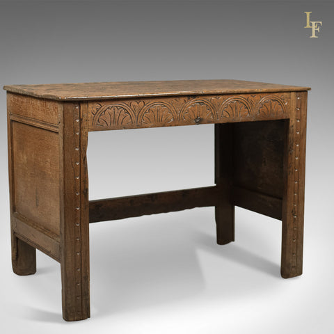 Early 18th Century Antique Coffer Desk - London Fine Antiques