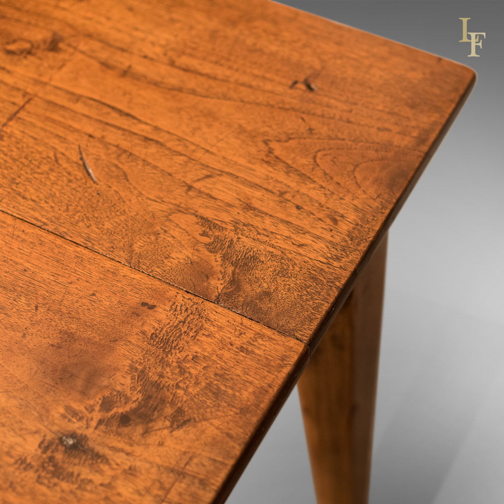 Antique Dining Table, 19th Century French Country Kitchen