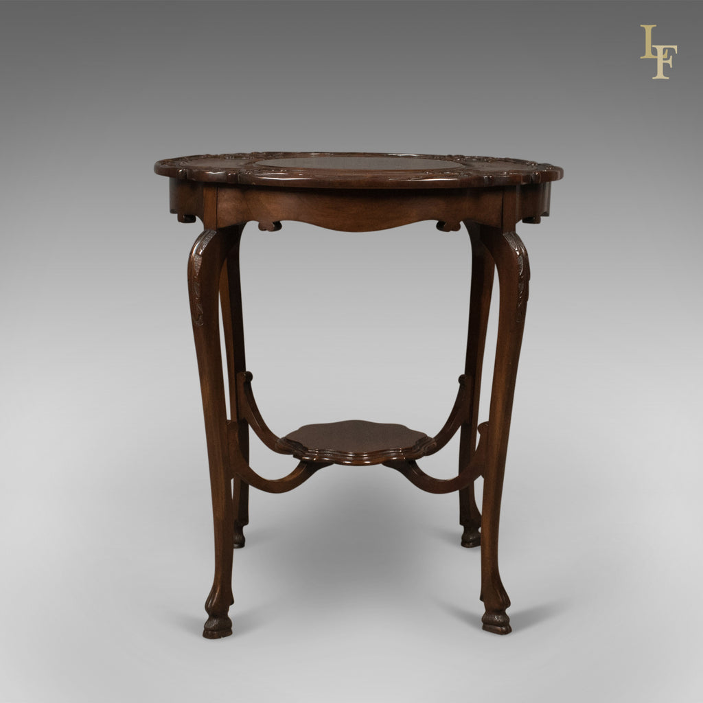 Antique Lamp Vintage Table Co : Antique display table victorian mahogany english c