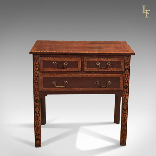 Antique Lowboy, Early Georgian Mahogany c.1720 - London Fine Antiques