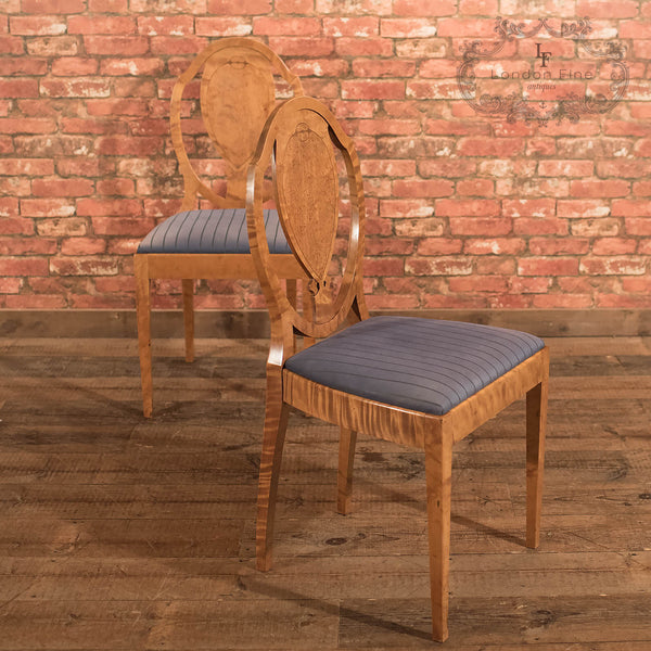 Antique Pair of Chairs, A.B. Nordiska Kompaniet 1918 - London Fine Antiques