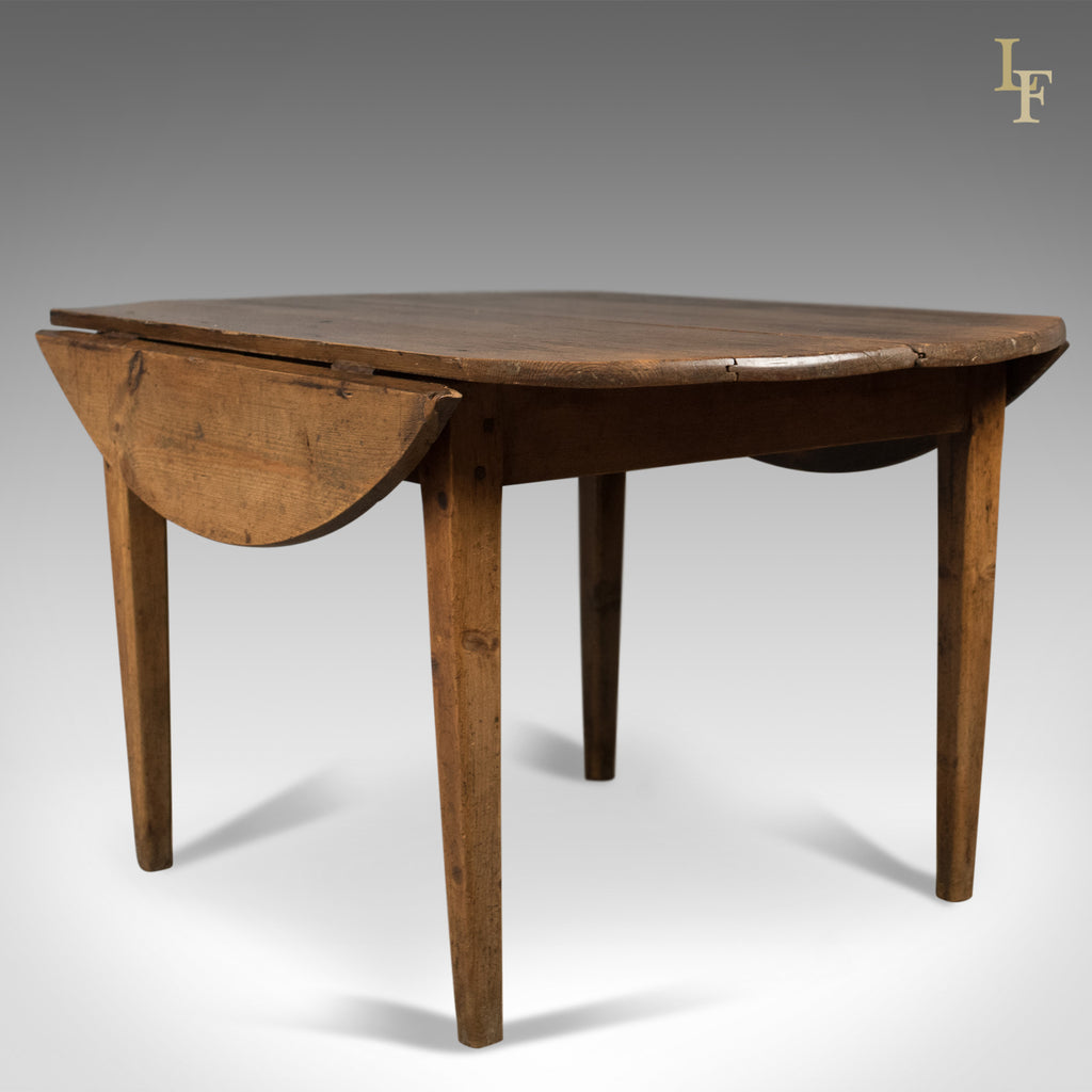 Antique Pine Table, French Country Kitchen Dining c.1850 ...