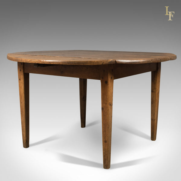 Antique Pine Table, French Country Kitchen Dining c.1850 - London Fine Antiques