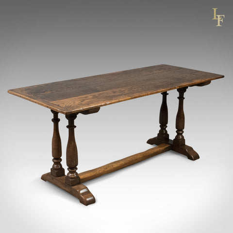 Antique Refectory Table, 17th Century and Later, English, Oak - London Fine Antiques