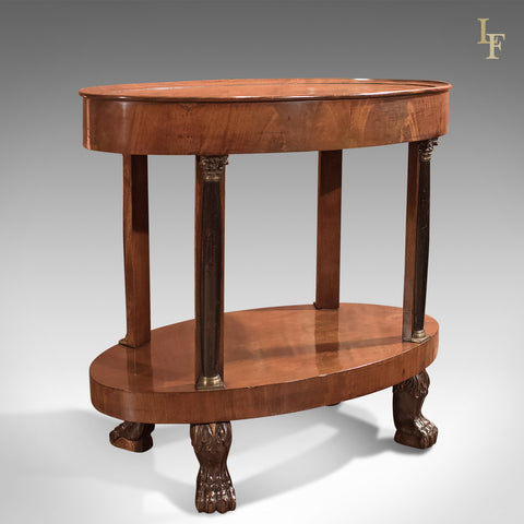 Antique Side Table, French Empire Gueridon circa 1815 - London Fine Antiques