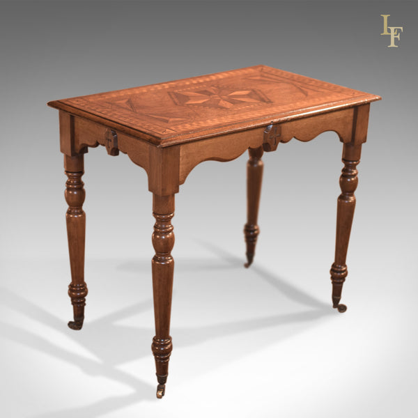 Antique Side Table, Georgian Oak c.1800 - London Fine Antiques