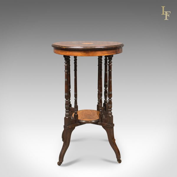 Antique Side Table, Victorian Rosewood, English c.1880 - London Fine Antiques