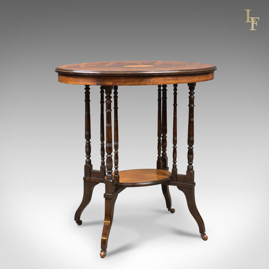 Antique Side Table, Victorian Rosewood, English C.1880   London Fine  Antiques