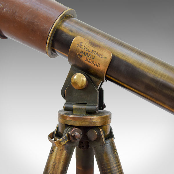 Antique Telescope, Achromatic Military Signalling MK VI Early C20th B C & Co Ltd