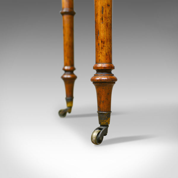 Antique, Adjustable Writing Table, English, Oak, Johnstone and Jeanes, c.1850