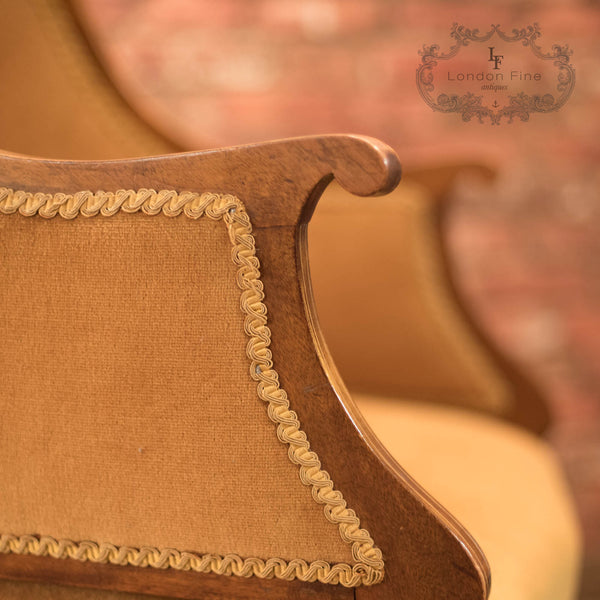 Edwardian Drawing Room Armchair, c.1910 - London Fine Antiques - 10