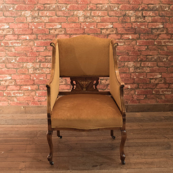 Edwardian Drawing Room Armchair, c.1910 - London Fine Antiques - 2