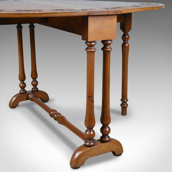 Antique, Arts & Crafts Sutherland Table, Liberty-Esque, occasional, centre c1900