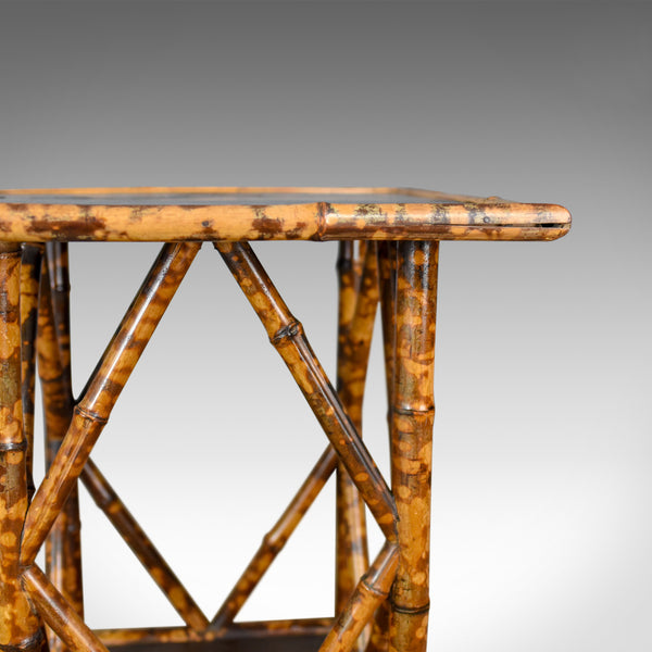 Antique Bamboo Table, Occasional, Side, Oriental, Victorian Circa 1900 - London Fine Antiques