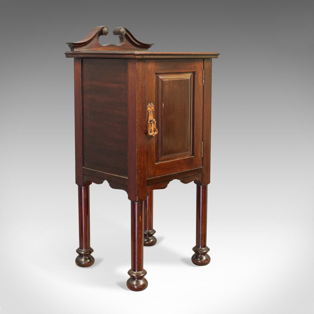 Antique Bedside Cabinet, Arts and Crafts, Maple and Co, Nighstand, c.1890 - London Fine Antiques