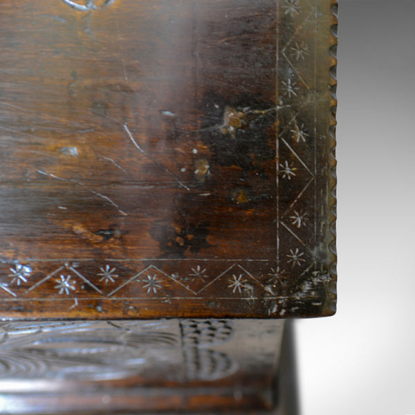 Antique Bible Box on Stand, William & Mary, Oak, Writing, Circa 1690 and Later - London Fine Antiques