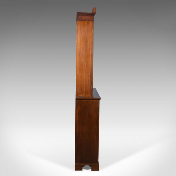 Antique Bookcase, English, Victorian, Mahogany, Display Cabinet, Circa 1900 - London Fine Antiques