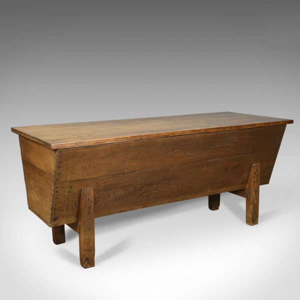 Antique Boulangerie Dough Bin, Large, French, Elm, Chest, Circa 1800 - London Fine Antiques