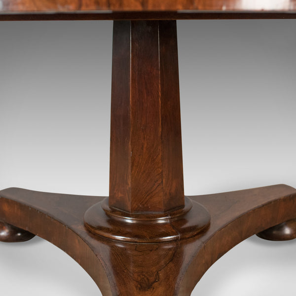 Antique Breakfast Table, English, Regency, Rosewood, Dining, Circa 1820 - London Fine Antiques