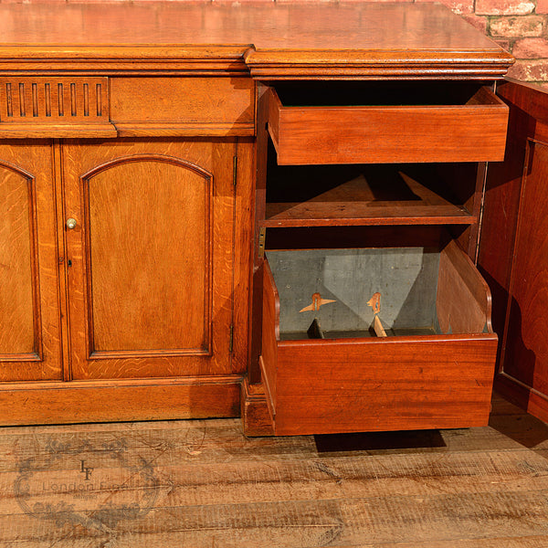 Regency Breakfront Sideboard, c.1830 - London Fine Antiques