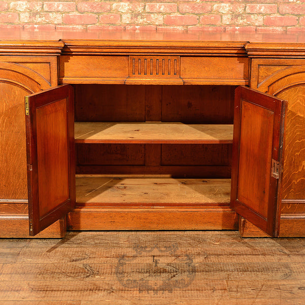 Regency Breakfront Sideboard, c.1830 - London Fine Antiques - 7