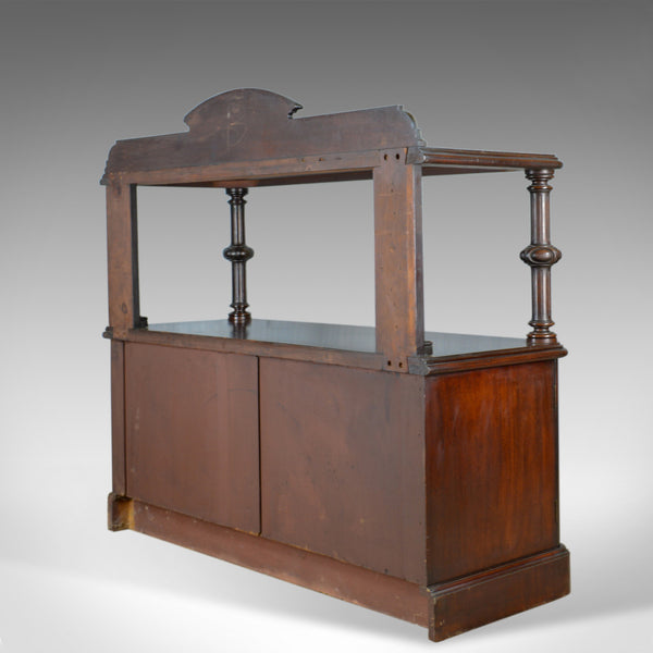 Antique Buffet Sideboard, English, Victorian, Mahogany, Server, Circa 1880 - London Fine Antiques