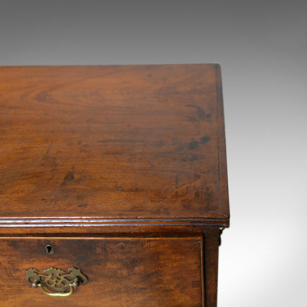 Antique Campaign Chest of Drawers, English, Late Georgian, Walnut, Circa 1780 - London Fine Antiques