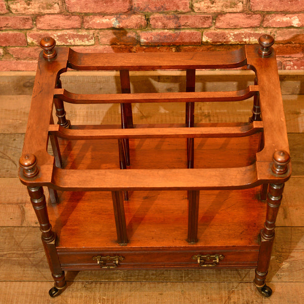 Victorian Mahogany Canterbury, c.1850 - London Fine Antiques - 3