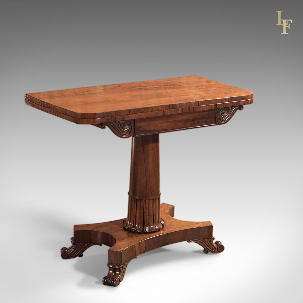 Antique Card Table Victorian Rosewood Table London Fine Antiques