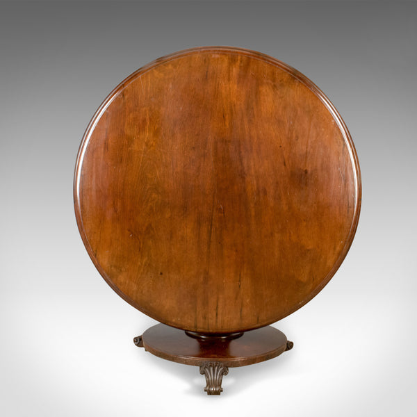 Antique Centre Table, English, William IV Breakfast Table, Mahogany Circa 1835 - London Fine Antiques