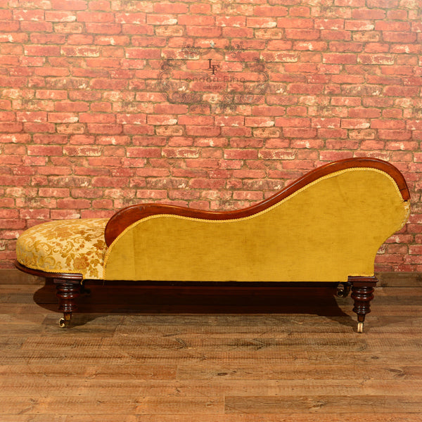 Victorian Chaise Longue, c.1870 - London Fine Antiques - 4